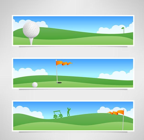 高尔夫球场banner_素材中国sccnn.com