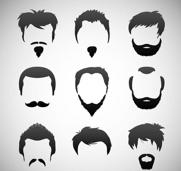 男子发式和胡子