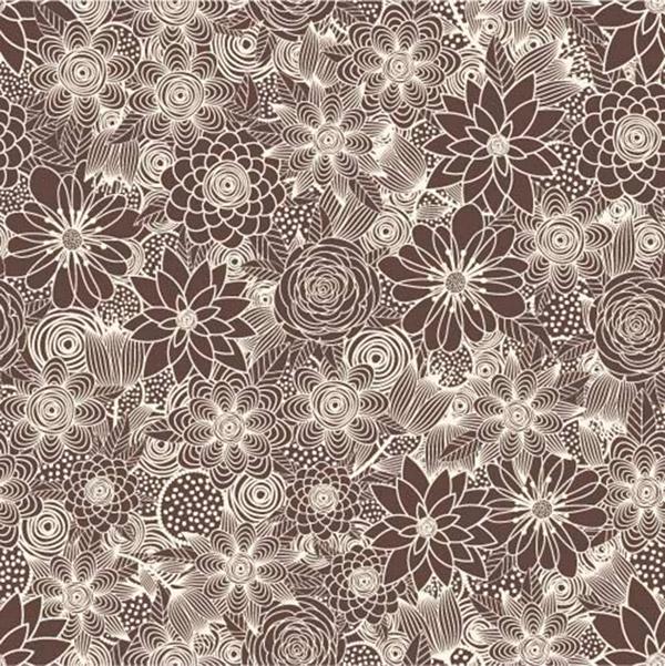古典花纹墙纸背景