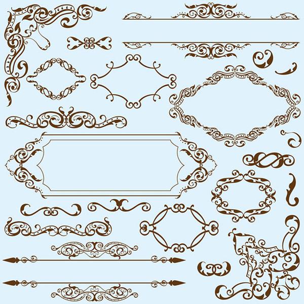 0 点 关键词: 欧式花纹花边设计矢量素材,欧式花纹,边角花纹,对角图片