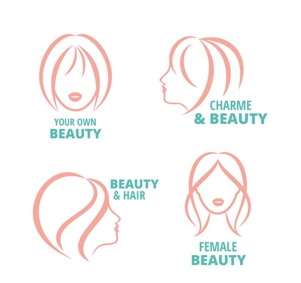女子头像标志