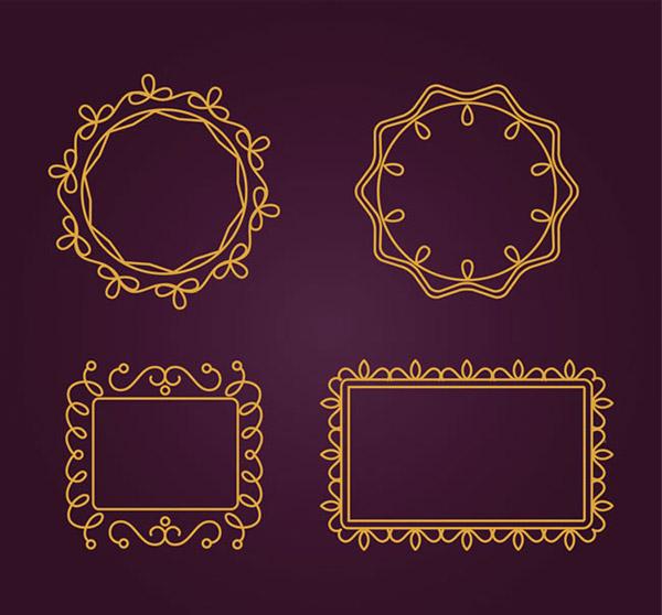 方形,框架,边框,花纹