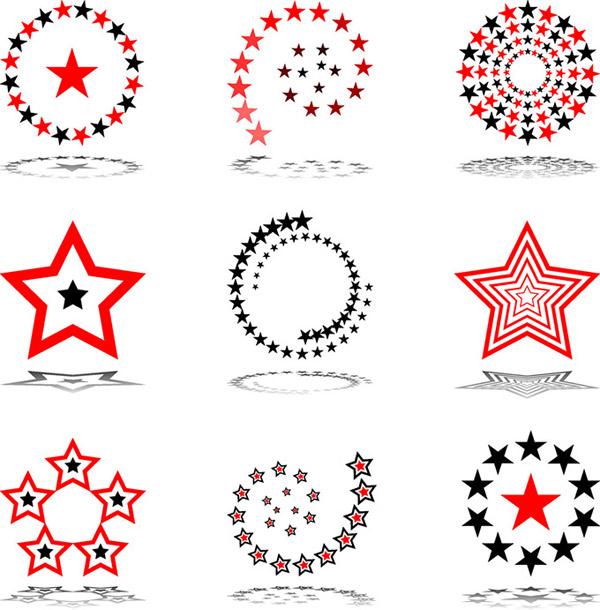 星星标志设计图片