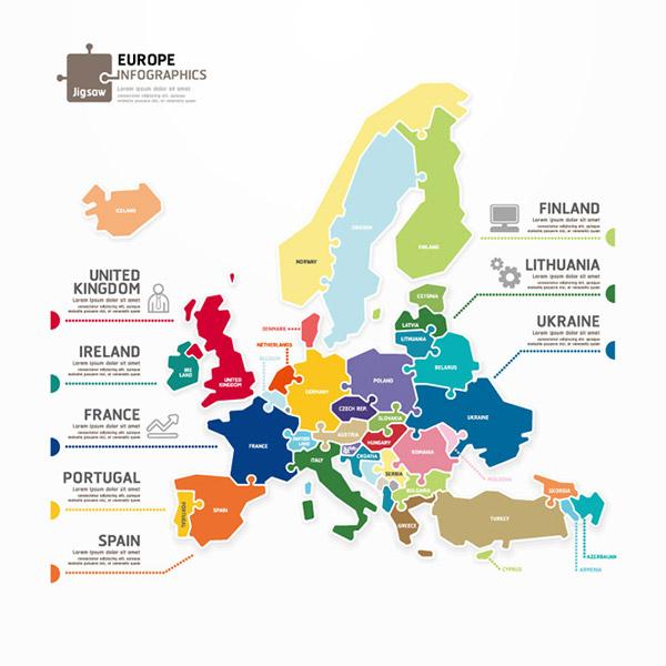 国家,葡萄牙,乌克兰,立陶宛,芬兰,英国,冰岛,法国,西班牙,欧洲,地图