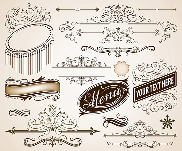 丝带,边框,花边,装饰花纹,古典花纹,欧式花纹,传统图案,背景花纹,复古
