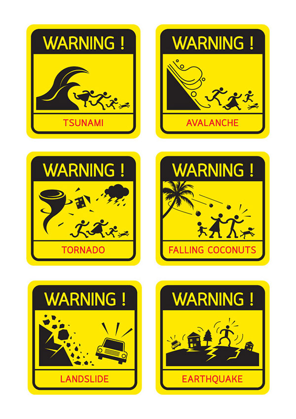 0 点 关键词: 自然灾害图标标识矢量素材,海啸,泥石流,龙卷风,台风