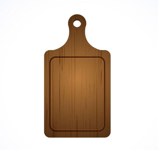 木菜板矢量_素材中国sccnn.com