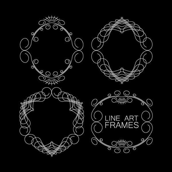 0 点 关键词: 细线花纹框架矢量素材,边框,花纹,细线,框架,欧式,古典
