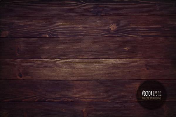 暗色木纹背景矢量素材下载