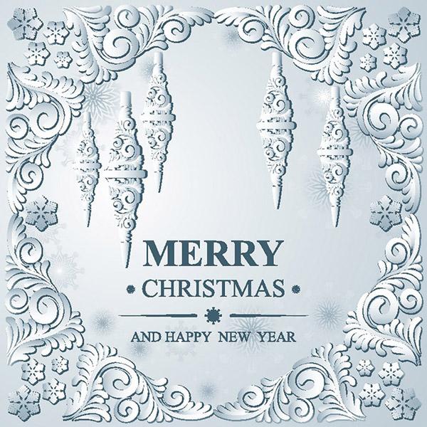 2016圣诞节贺卡,圣诞节背景,圣诞节装饰花纹,背景边框,花边,圣诞节