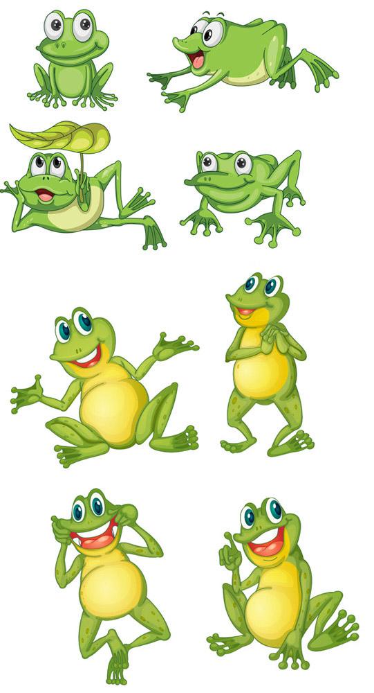 可爱卡通青蛙_效果图