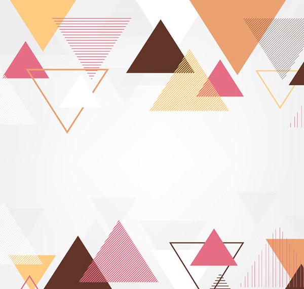 三角形背景矢量