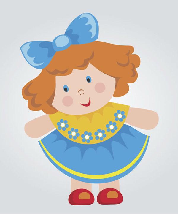 0 点 关键词: 卡通洋娃娃玩偶矢量素材下载,洋娃娃,玩偶,女孩,裙子