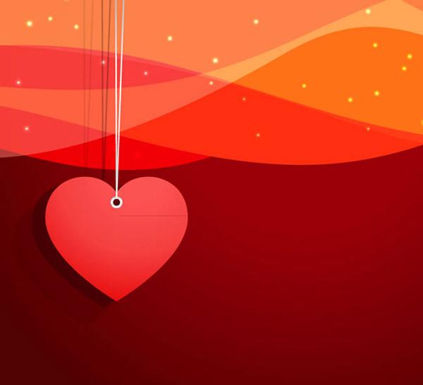 素材分类: 矢量背景所需点数: 0 点 关键词: 红色爱心挂饰背景矢量素