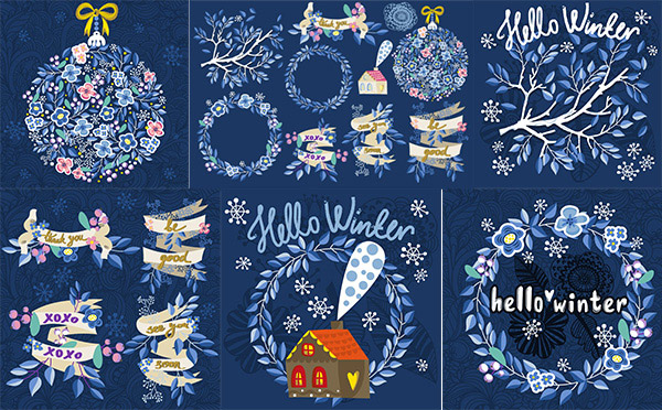 0 点 关键词: 时尚手绘花环设计矢量素材,时尚,手绘,英文花纹,花环