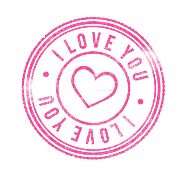 素材分类: 矢量情人节所需点数: 0 点 关键词: 粉色爱心印戳矢量素材