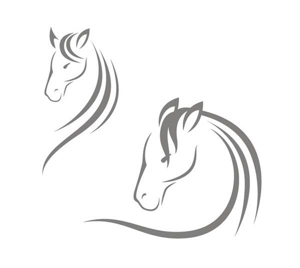 矢量图案所需点数: 0 点 关键词: 骏马头像矢量素材下载,马,马头