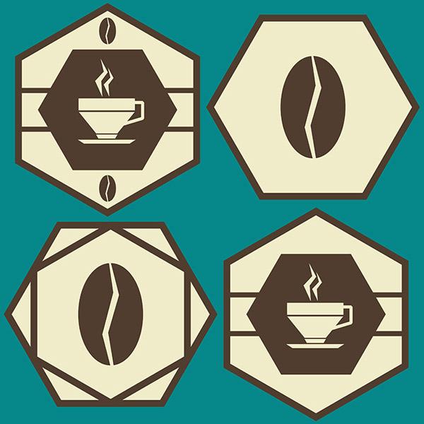 咖啡logo设计,咖啡标志设计