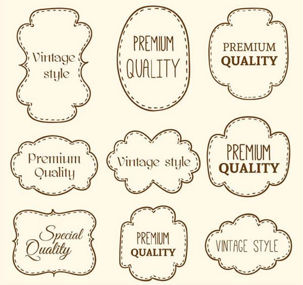 手绘市场营销班级logo