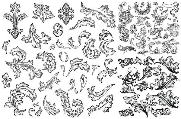 素材分类: 矢量花纹所需点数: 0 点 关键词: 古典欧式花纹设计矢量
