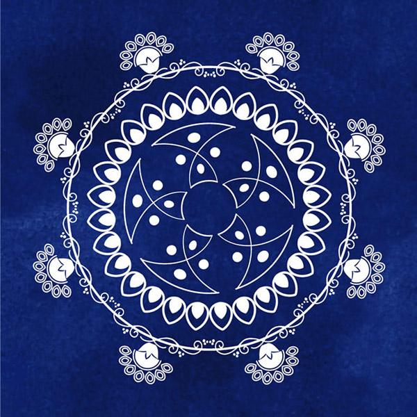 矢量花纹所需点数: 0 点 关键词: 古典欧式圆形花纹图案矢量图片ai图片