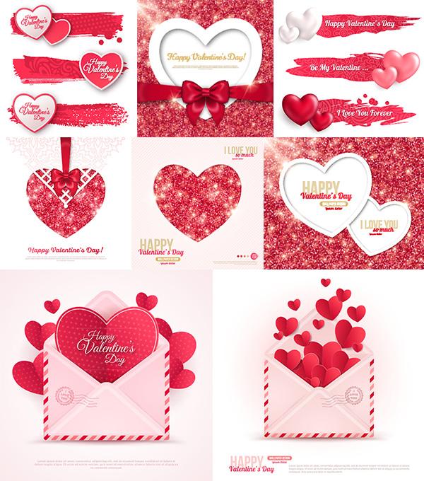 0 点 关键词: 爱心蝴蝶结矢量素材,,情人节素材,信封,蝴蝶结,心形