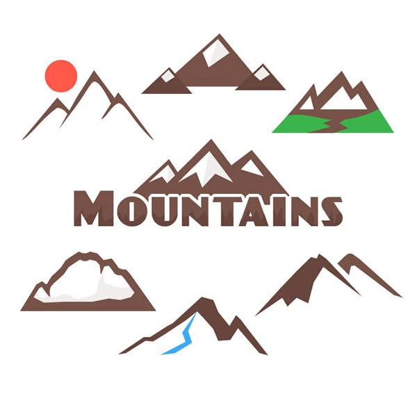 0 点 关键词: 创意山峰标志矢量素材下载,山,太阳,标志,山峰,户外