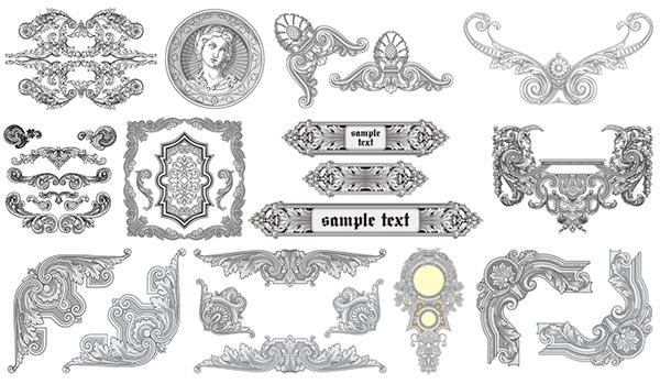 时尚潮流图案,古典花纹图片