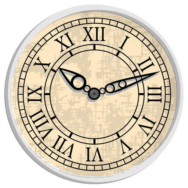 数字时钟表盘