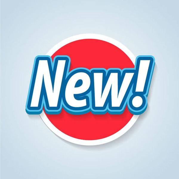 圆形NEW新品标签图片