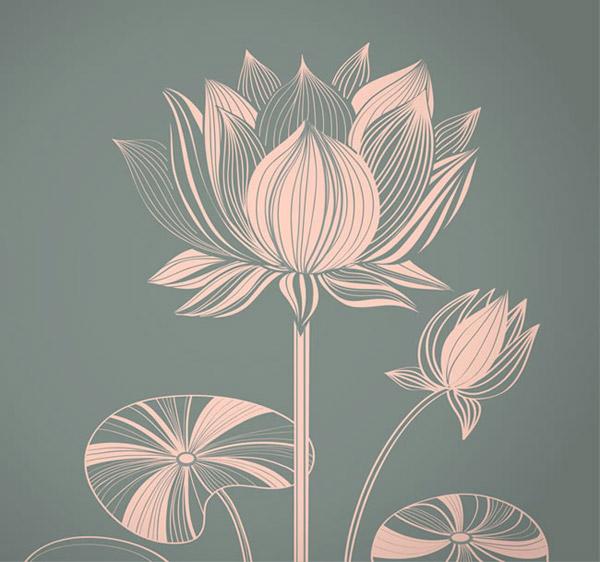 0 点 关键词: 线描荷花设计矢量素材下载,花卉,荷花,植物,线描,矢量