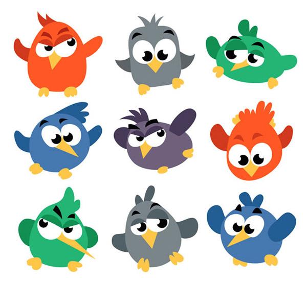 0 点 关键词: 卡通大眼小鸟矢量素材下载,表情,鸟,动物,卡通,矢量图