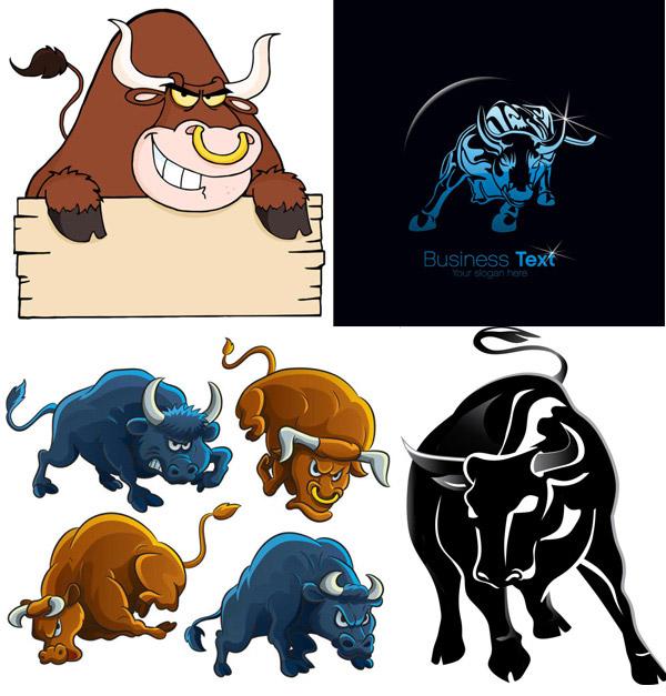 背景,斗牛,剪影