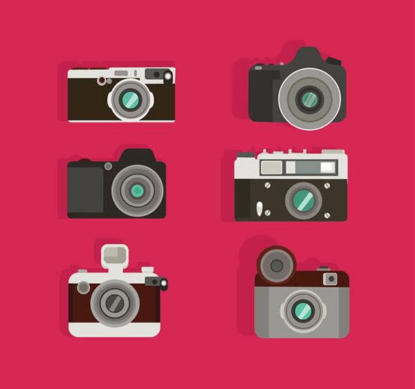 0 点 关键词: 时尚照相机设计矢量素材下载,摄影,照相机,电子产品