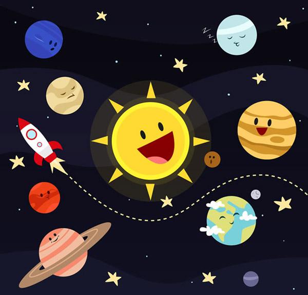 地球,火星,木星