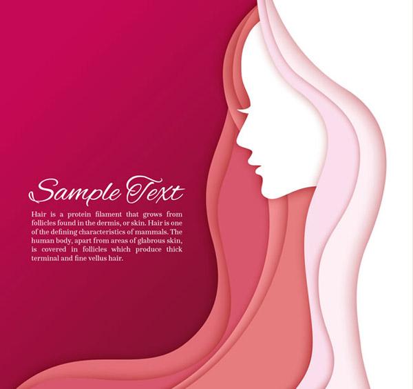 点 关键词: 美丽长发女子侧脸矢量素材下载,头像,人物,长发,女子,侧脸