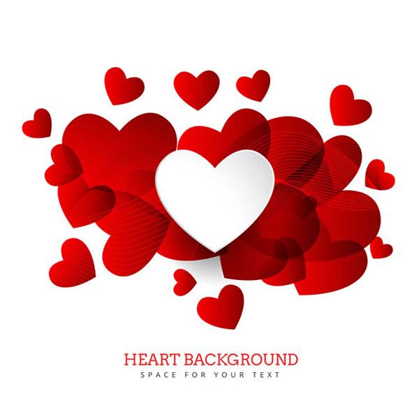 素材分类: 矢量情人节所需点数: 0 点 关键词: 缤纷红色爱心背景和