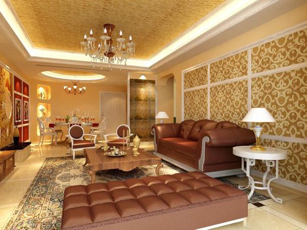 欧式客厅模型_素材中国sccnn.com