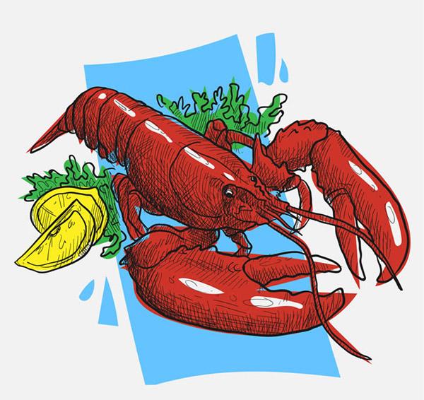 素材分类: 矢量美食所需点数: 0 点 关键词: 红色龙虾料理矢量素材下