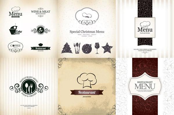欧式菜单模板1_平面广告
