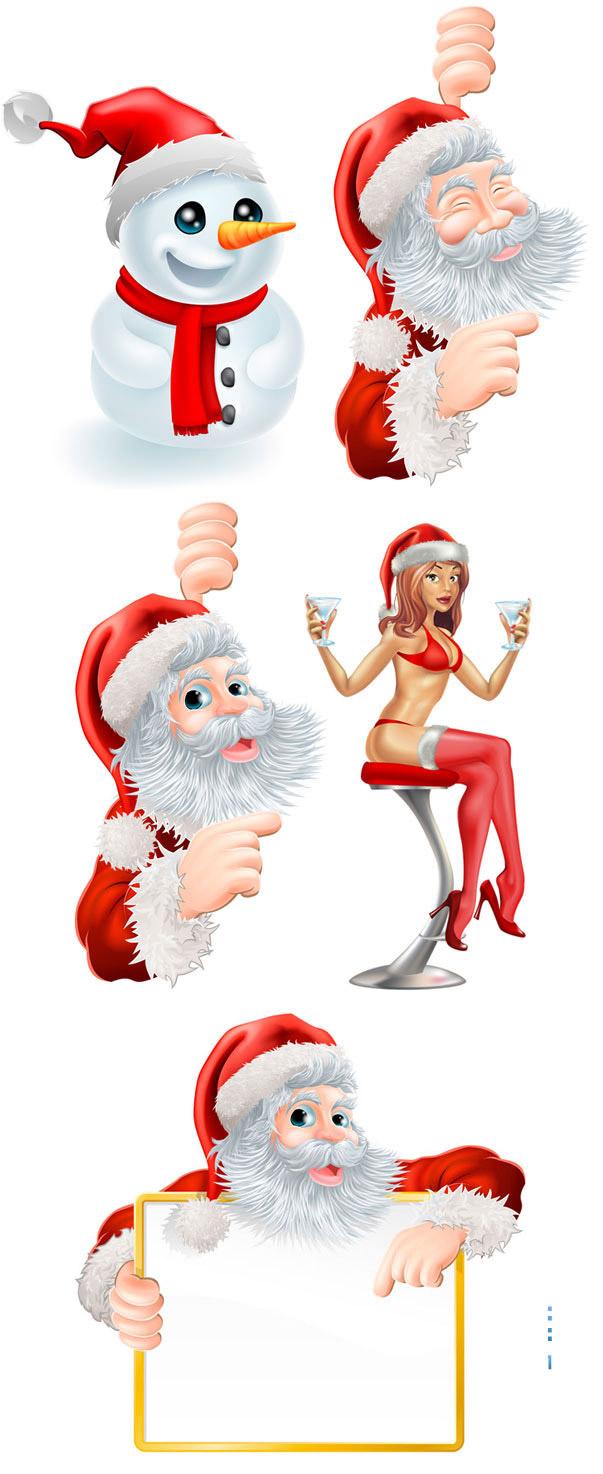 素材分类: 其它所需点数: 0 点 关键词: 可爱卡通圣诞老人宣传牌宣传