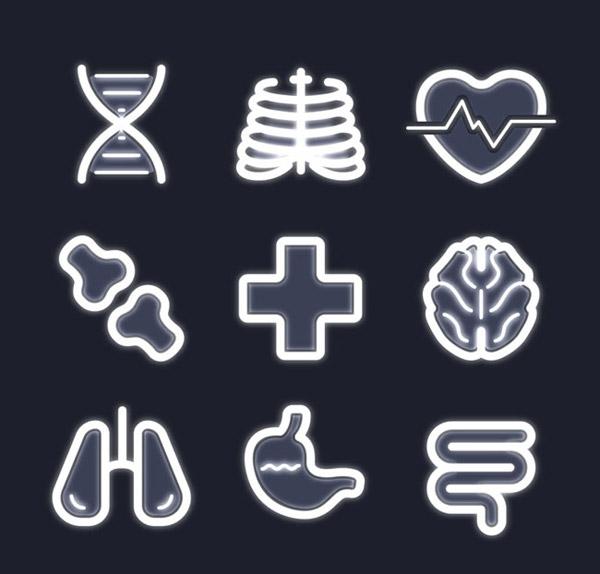 医疗图标矢量_素材中国sccnn.com