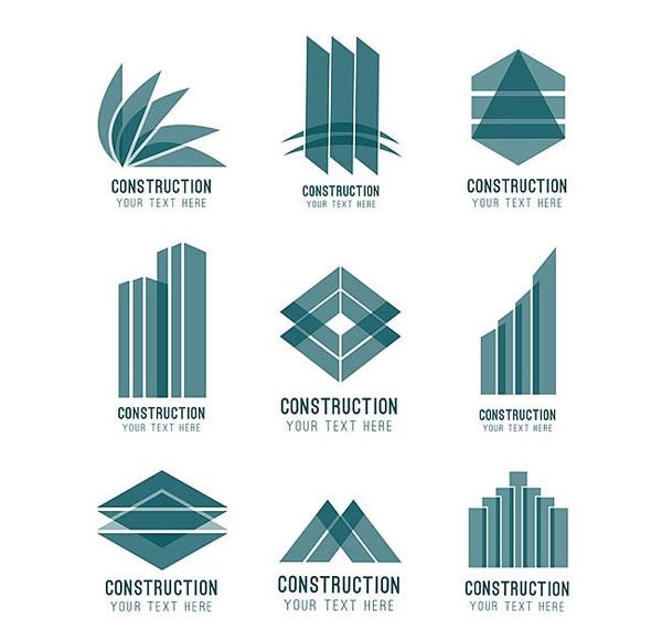素材分类: 矢量logo图形所需点数: 0 点 关键词: 抽象建筑标志矢量素