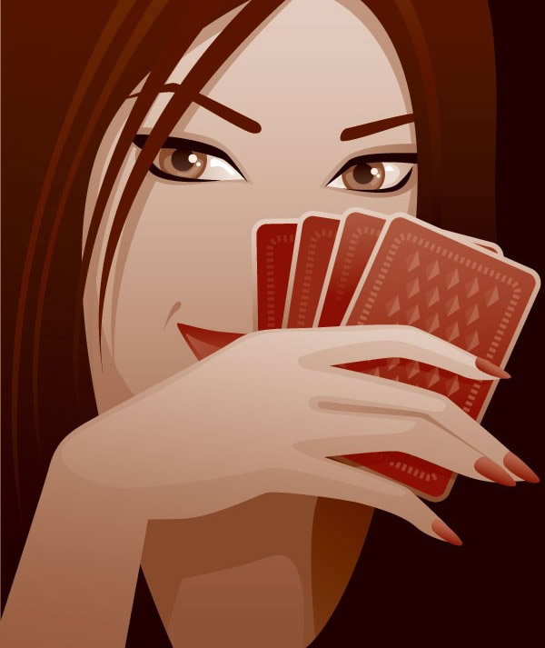 扑克牌与女性