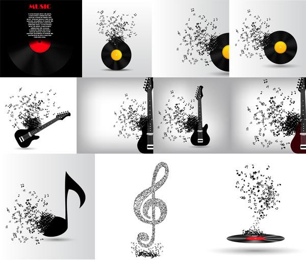 音乐吉他唱片