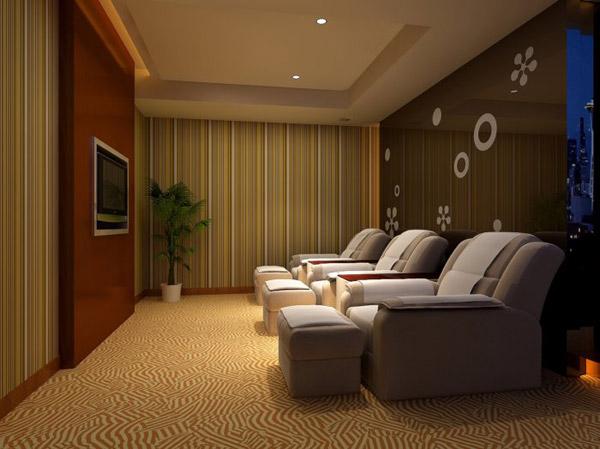 背景墙 房间 家居 酒店 设计 卧室 卧室装修 现代 装修 600_449