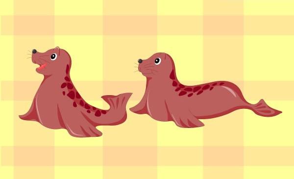0 点 关键词: 卡通小海豹矢量素材下载,矢量动物,卡通,可爱,海豹,小