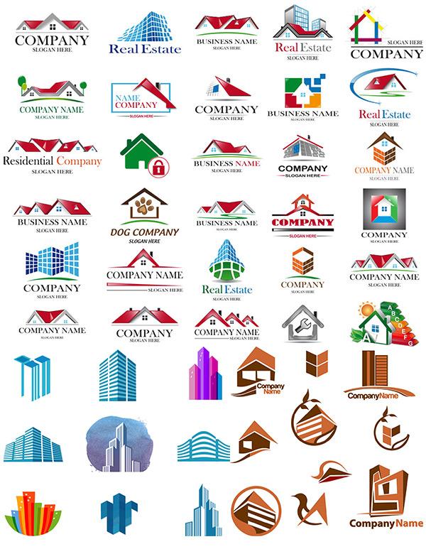 矢量logo图形所需点数: 0 点 关键词: 城市建筑logo设计矢量素材,城市