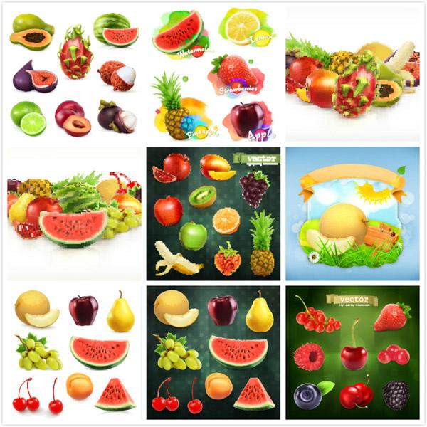 素材分类: 矢量水果所需点数: 0 点 关键词: 水果设计矢量素材,菠萝
