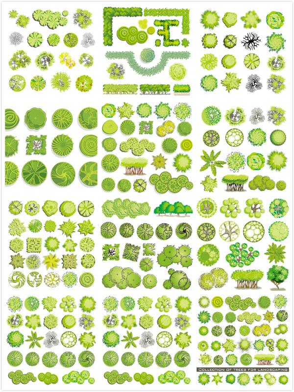 矢量卡通其它所需点数: 0 点 关键词: 精美树木平面装饰矢量素材